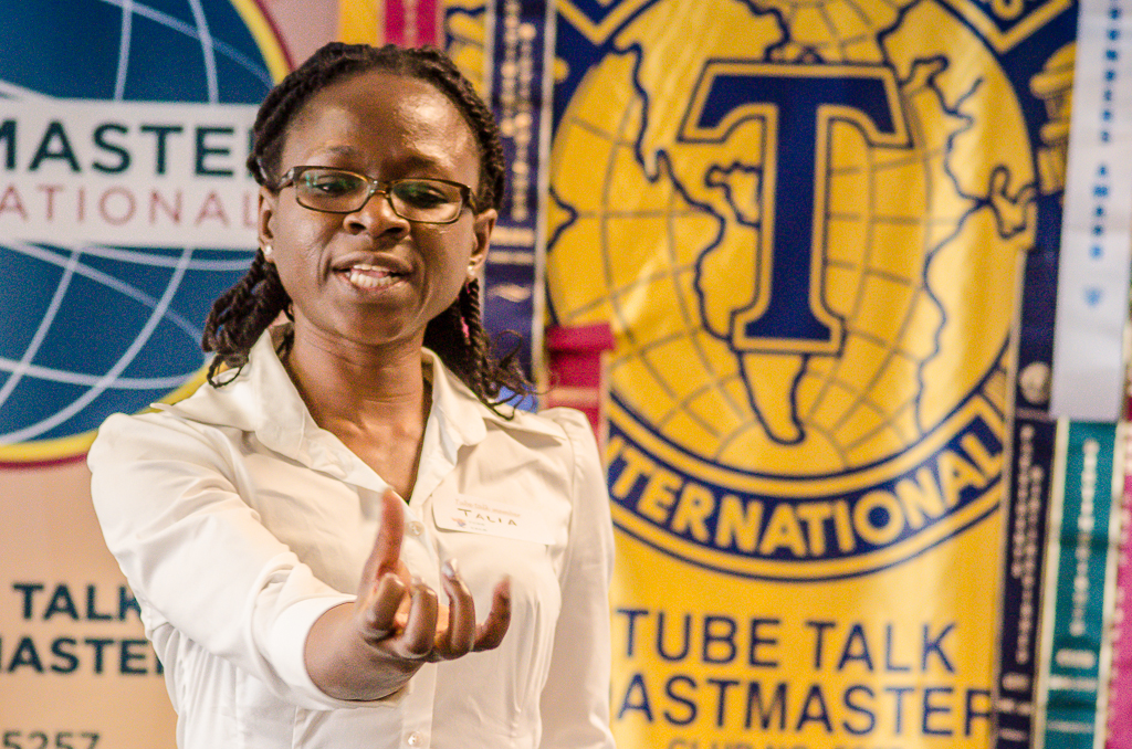 Tube Talk Toastmasters Public Speaking & Leadership training and development, London UK