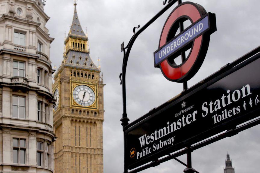 Tube Talk Toastmasters London Underground exit