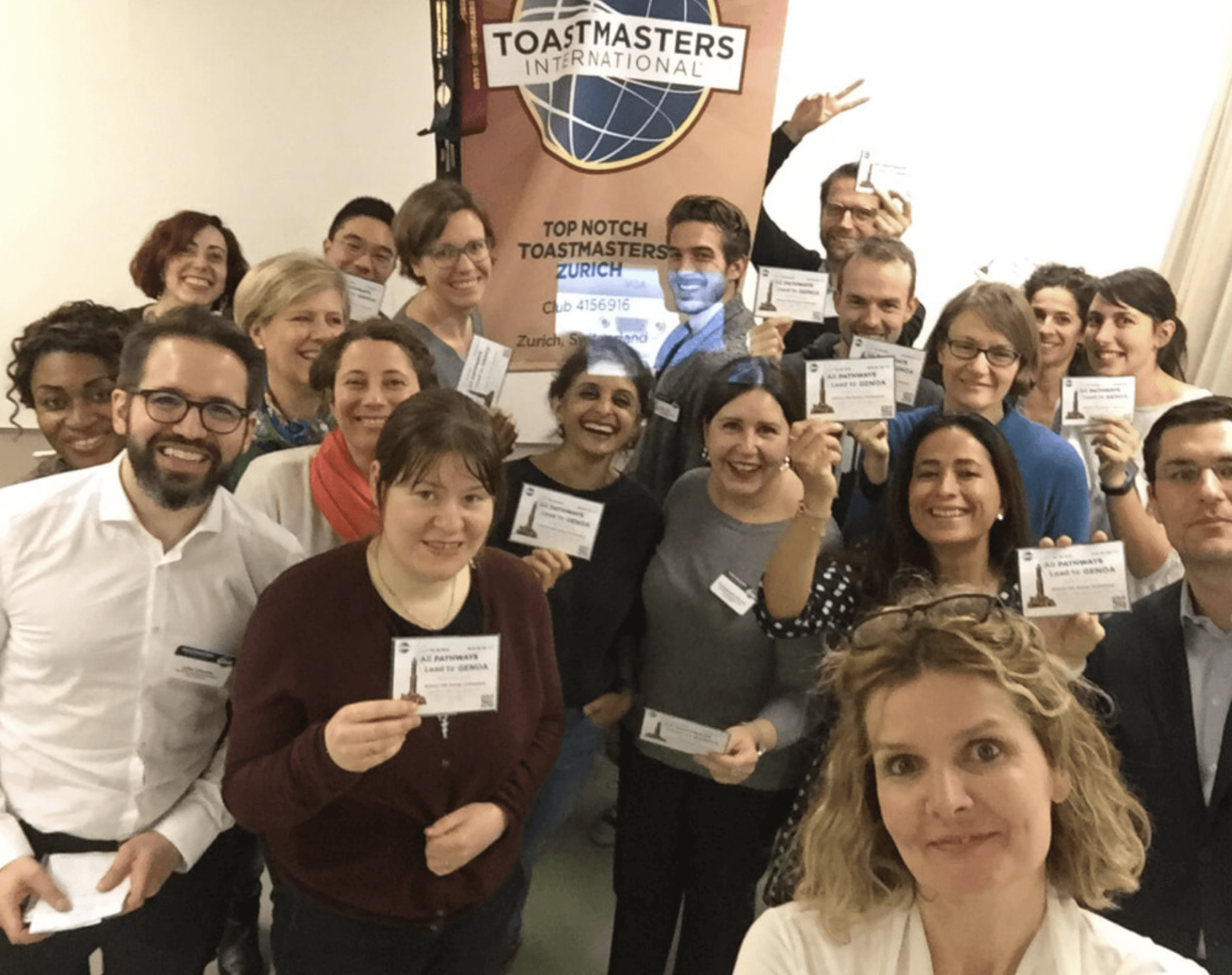 Top Notch Toastmasters Zurich