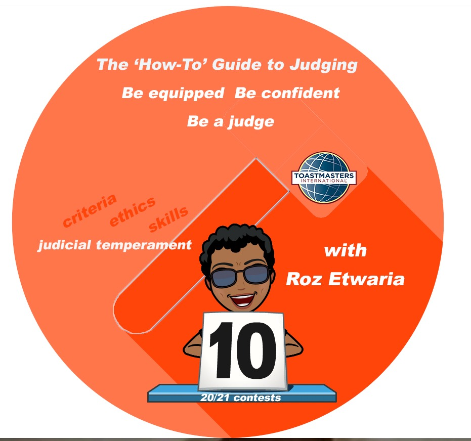 How To Guide to Judging - workshop by Roz Etwaria